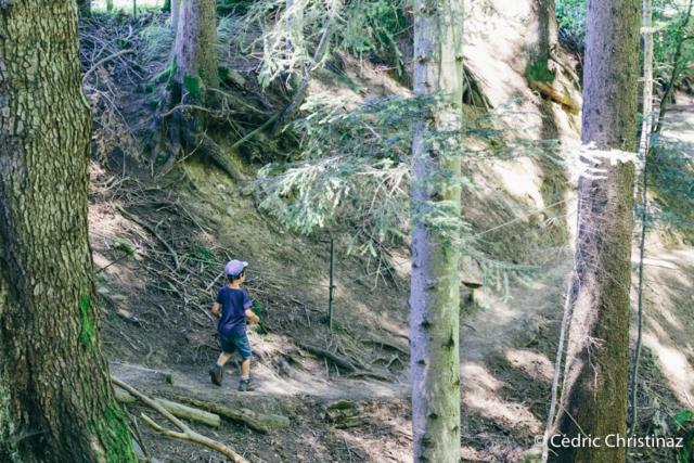 Sentier des Sorcières à Vuadens