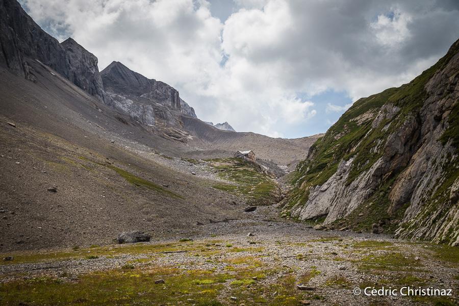 Cabane du Wildhorn, Wildhornhütte