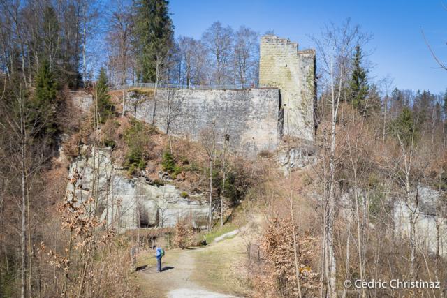 Château de Grasburg, Singine, Heitenried, Schwarzenburg