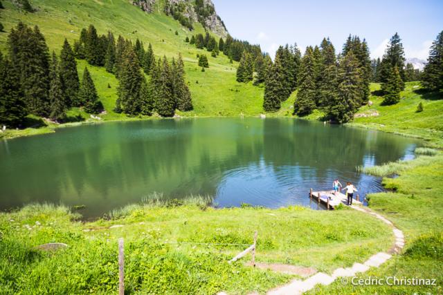 La Palette, Lac Retaud, les Diablerets, Col du Pillon